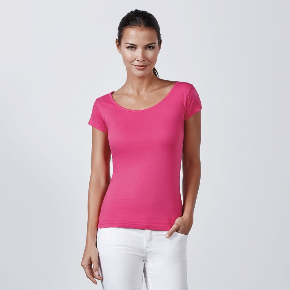 Women T-Shirt - Deep Collar (cm):